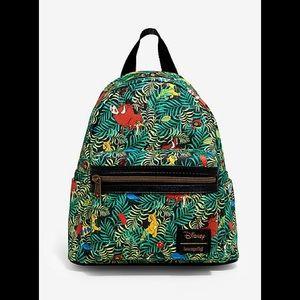NWT Loungefly Lion King Jungle Bugs Mini Backpack